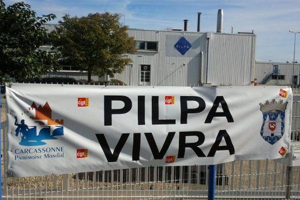 Carcassonne - usine Pilpa - 16 octobre 2012.