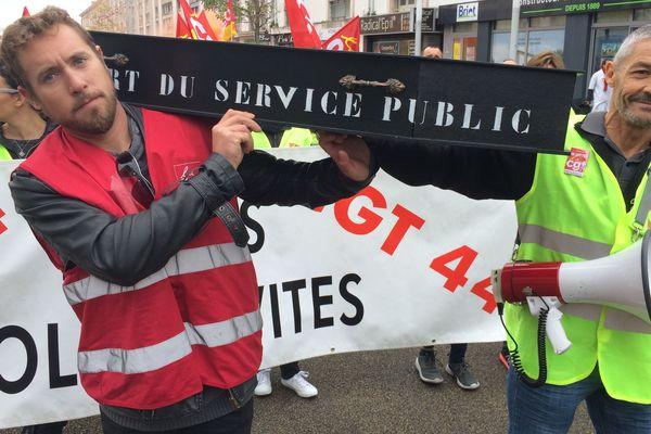 Le service public enterré ce mardi 10 octobre 2017 à Saint-Nazaire