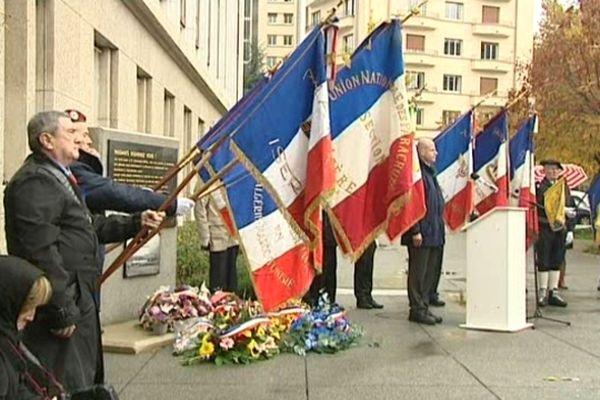 Commémoration du 11 novembre à Grenoble / photo d'archive