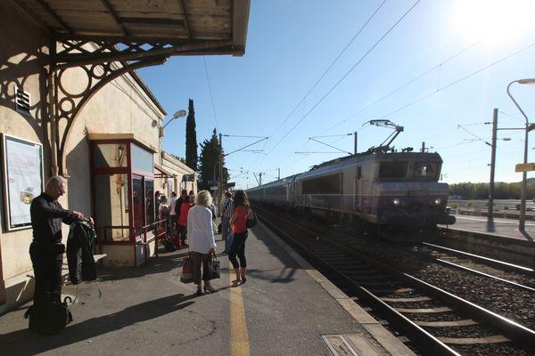 Des usagers de la gare SNCF ont fait la découverte vers 6h30, dimanche 8 août.