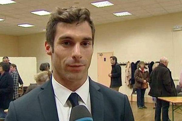 Julien Odoul a été nommé secrétaire départemental du Front National dans l'Yonne.