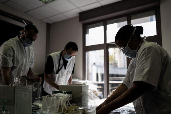 Au CHU de Clemont-Ferrand, une dizaine de patients porteurs du coronavirus sont pris en charge. Photo d'illustration.