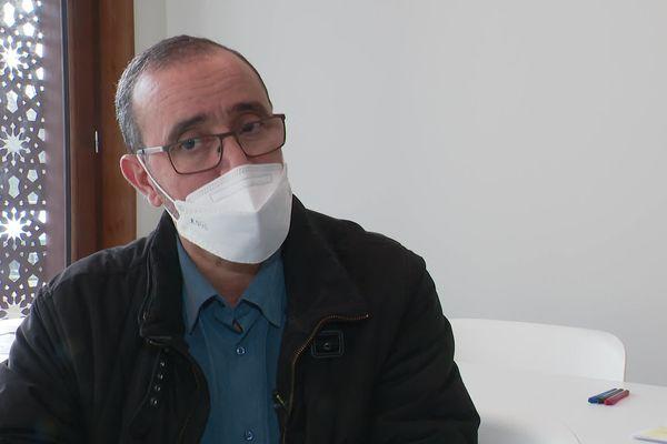 Abdelmadjid Ariouat, imam bénévole à la mosquée de Saint-Priest, a suivi un cursus  - février 2021