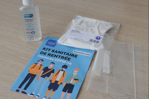 Le kit sanitaire de rentrée