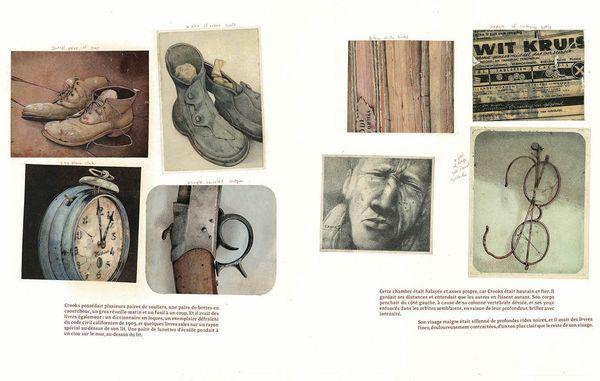 Planche extraite de Des souris et des Hommes de John Steinbeck et Rebecca Dautremer
