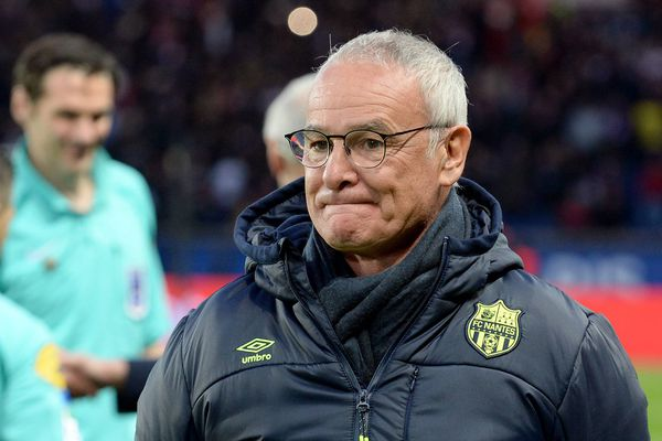 Claudio Ranieri, entraîneur du FC Nantes lors de PSG/Nantes le 18 novembre 2017
