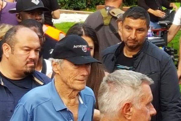Clint Eastwood en tournage à Gennevilliers