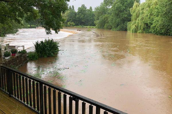 Des orages localisés ont frappé dans la Sarthe, la Mayenne, la Loire-Atlantique et le Maine-et-Loire le 9 juin 2018