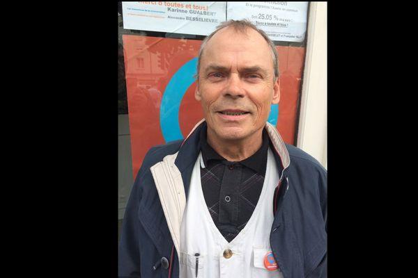 Stéphane Poussier était candidat de la France Insoumise dans le Calvados au printemps 2017.