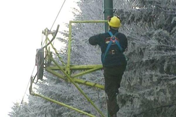 La station familiale de l'Allier, la Loge des Gardes se prépare à ouvrir dès les premières neiges.
