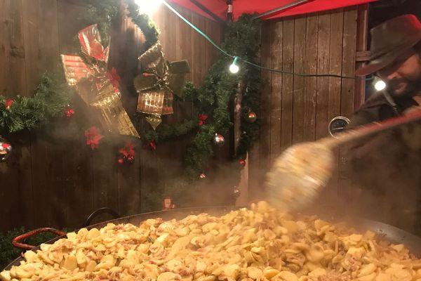 Plus d'une centaine d'exposants sont présents au marché de Noël de Janvry