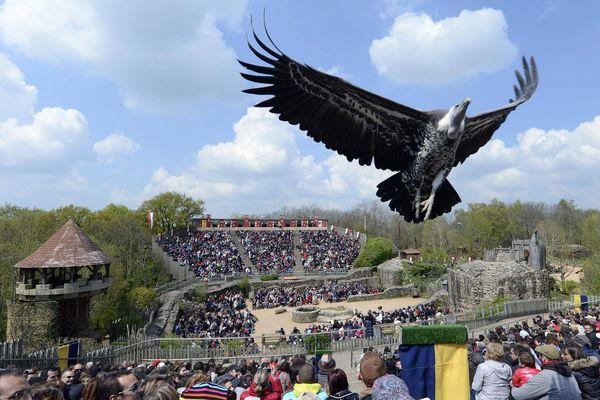 Le spectacle du Bal des oiseaux fantômes au Puy du Fou.