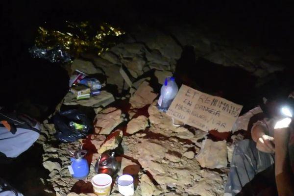 Une dizaine de personnes auraient pris possession des souterrains de la carrière de Mazaugues pour protester contre son exploitation.
