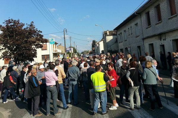 Les riverains bloquent la rue de Basseau à Angoulême