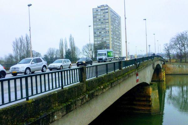 Les trois ponts du Boulevard Schuman bientôt en travaux/ Février 2018