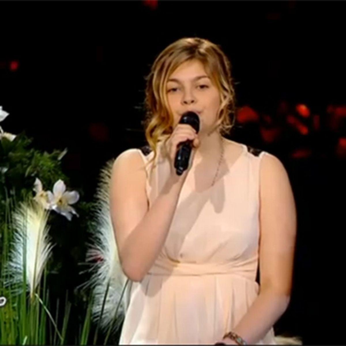 The Voice Louane La Jeune Heninoise Eliminee
