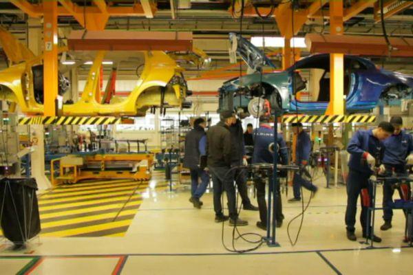 A l'usine Renault de Dieppe, 385 emplois seraient menacés.