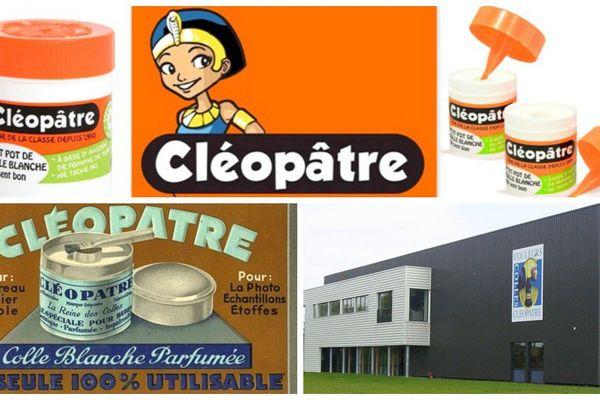 La grande aventure de la fabrication de la colle Cléopâtre par la « maison P.CHAMSON » débute en 1930 à Paris dans un appartement. En 1971, l'entreprise est transférée en Touraine et plus précisément à Ballan-Miré, près de Tours.