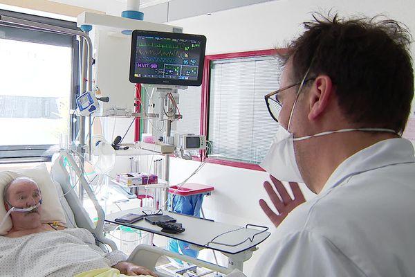 Au CHU de Poitiers, l'oxygénothérapie apporte plus de confort aux patients et évite, souvent, une intubation douloureuse.