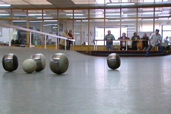 Le Liger Club de boule de fort, rue des Ponts-Chartrains à Blois