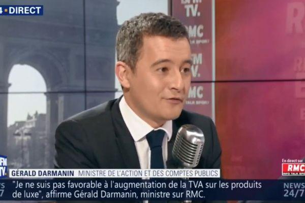 Gérald Darmanin ce vendredi matin sur RMC et BFM TV