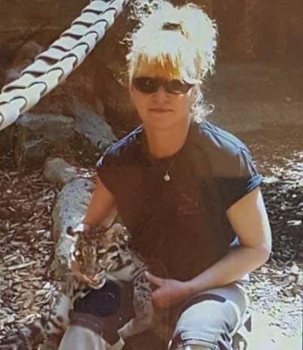 Véronique Thomas, alors directrice du zoo de Pont-Scorff