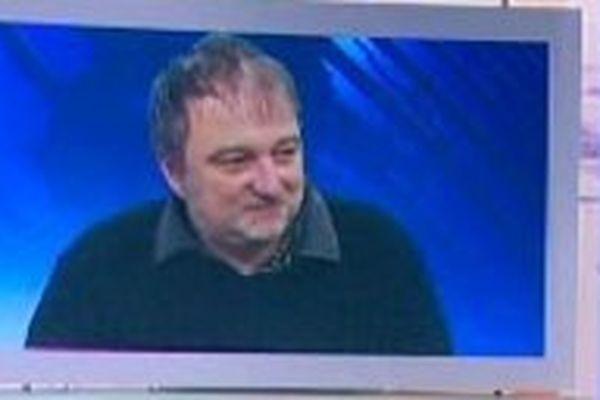 Denis Robert en 2011, invité du 19/20 en Lorraine.