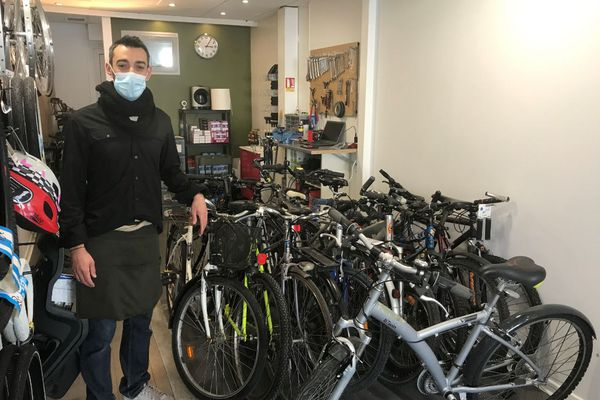 Wilfried Jullien a ouvert Cycles Bruges le 1er février 2021
