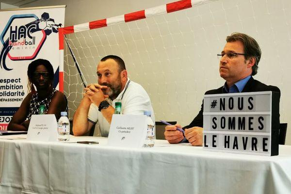 Stéphane Pellan est le nouvel entraîneur du HAC Handball depuis le 1er juillet 2019.