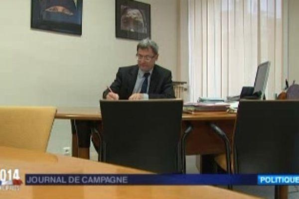Nicolas Sansu, député-maire PC de Vierzon (Cher)