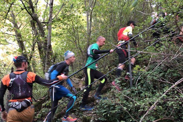 Trail des forts 2020 :  passage au fort de Beauregard