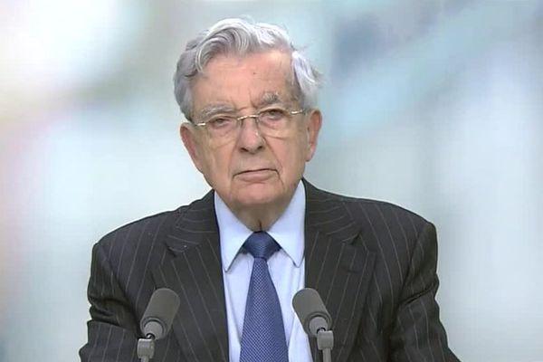 L'ancien ministre de l'Intérieur Jean-Pierre Chevènement