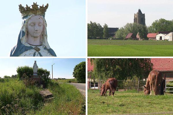 Quelques vues de la balade du village de Rubrouck