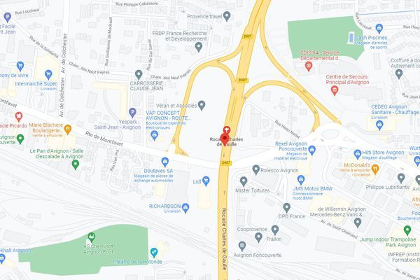 Deux morts et cinq blessés dans un accident et un suraccident de la route à Avignon
