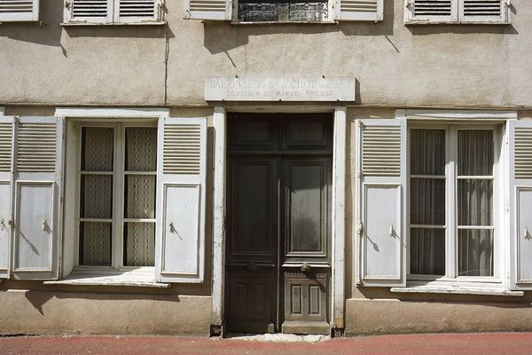 La maison de Tante Léonie, transformée en musée.