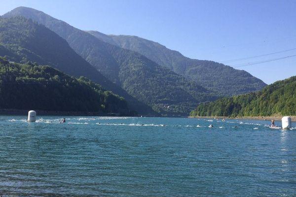 Triathlon Alpe d'Huez 2018, Lac du Verney, Isère