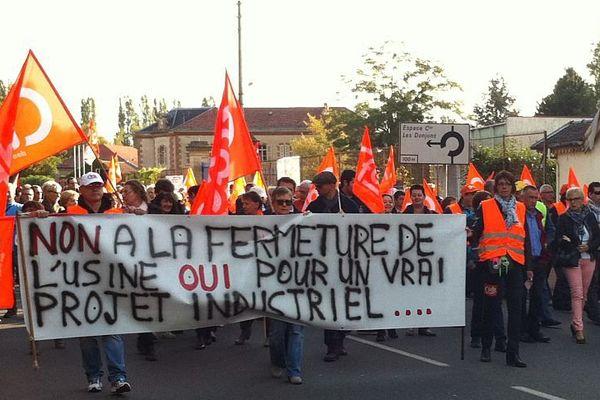 La faïencerie Sarreguemines Vaisselle, à Digoin, a été placée en redressement judiciaire