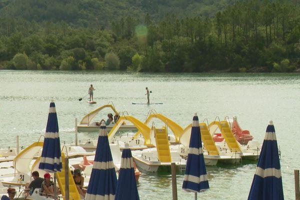 Lac de saint-Cassien, le 13 juillet 2020