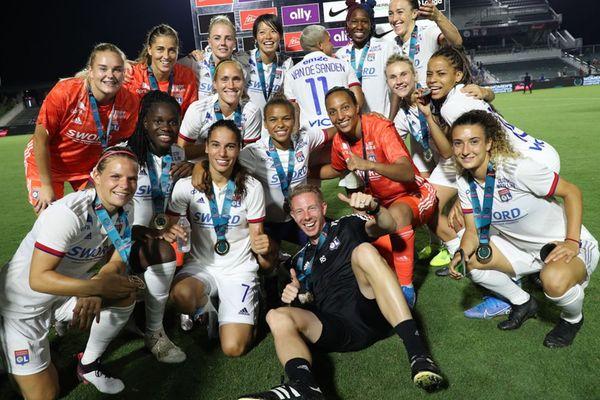 Football : l'OL féminine gagne la Women's International Champions Cup