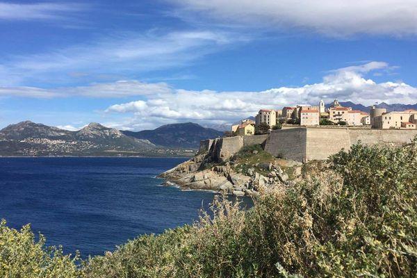 La citadelle de Calvi.