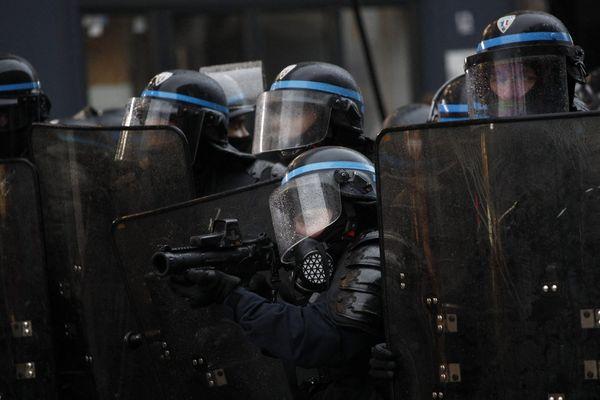 Manifestation du 9 janvier contre la réforme des retraites à Paris (illustration).