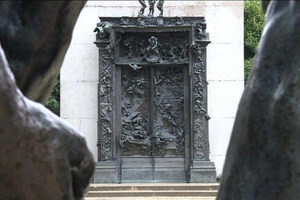 « la Porte de l'Enfer » d'Auguste Rodin
