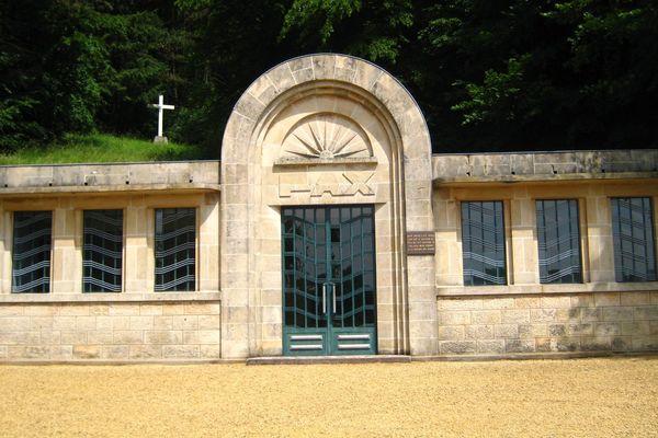 La crypte du camp de concentration de Thil (54), l'un des 2 camps de concetration en France avec le Struthof dont il était à l'origine une extension.
