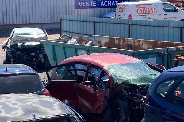 Le véhicule dans lequel se trouvaient 3 des personnes décédées