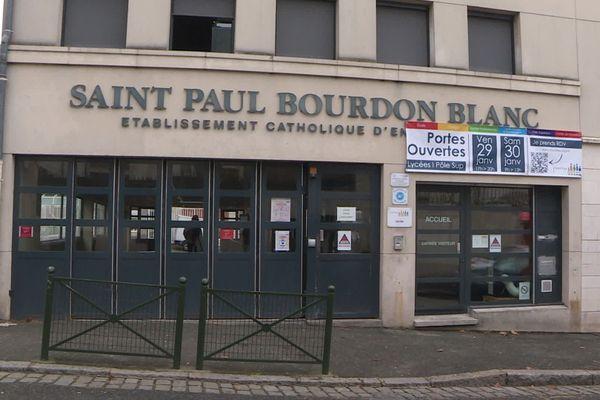 Lycée St Paul Bourdon Blanc à Orléans