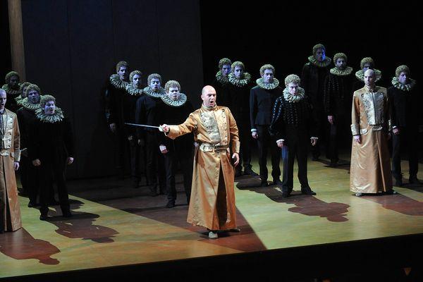 Représentation à l'opéra de Lille le 29 septembre 2013