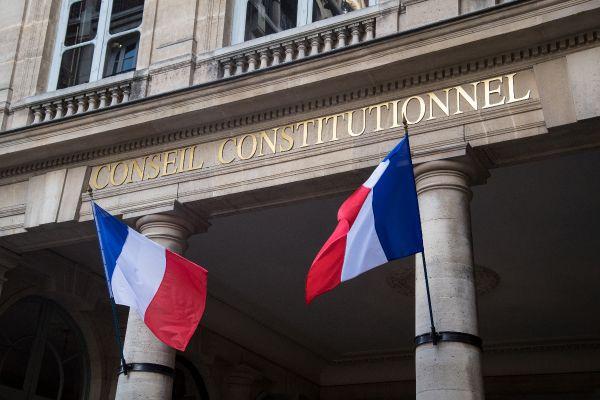 Entrée du Conseil constitutionnel. Photo d'illustration.