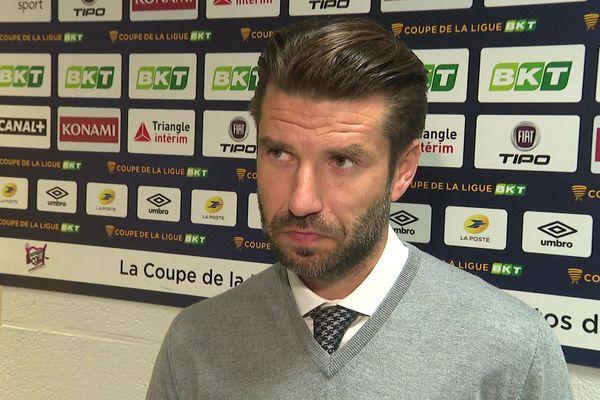 Luka Elsner se projette désormais vers la Ligue 1 après la double élimination de l'Amiens SC en Coupe de France et en Coupe de la Ligue