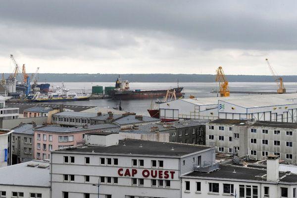 Le port de Brest