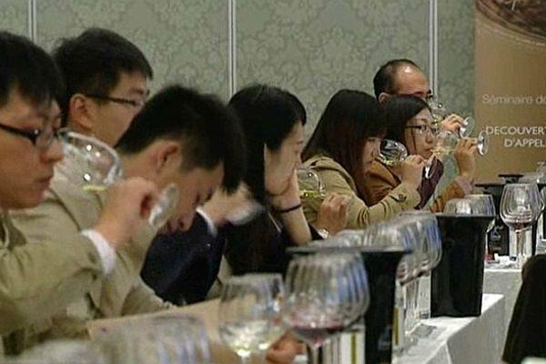Les vignerons bourguignons ont mené une opération de promotion dans 4 grandes villes chinoises du 24 octobre au 3 novembre 2012.